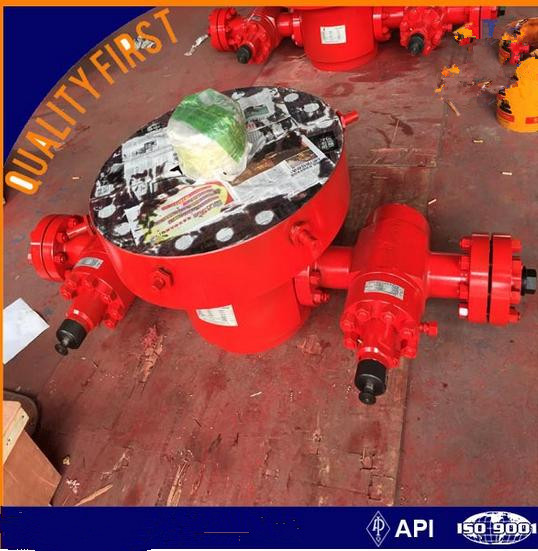 API welded/slip type casing head for wellhead assembly